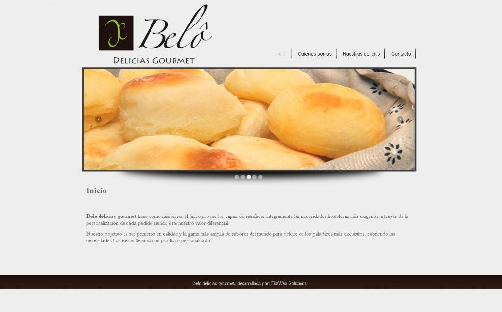 Belo Delicias Gourmet, empresa dedicada a la elaboración y distribución de delicias del mundo. (MADRID)