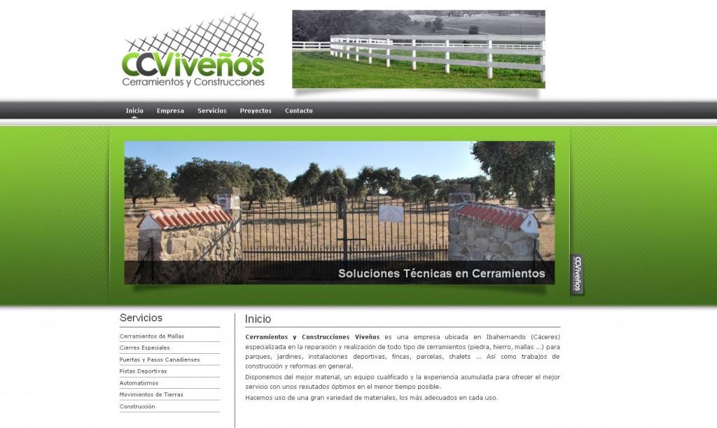 Cerramientos y Construcciones Viveños es una empresa ubicada en Ibahernando (CÁCERES)