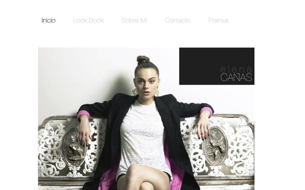 Elena Cañas. Diseñadora de ropa. (CHILE)
