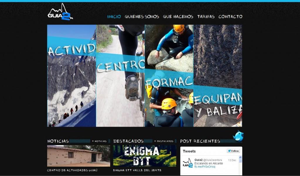 Guia2 es una empresa Extremeña dedicada al turismo activo, el guiado profesional en montaña, la formación en deportes de naturaleza y el balizamiento y equipación de recursos deportivos en el medio natural. (PLASENCIA)