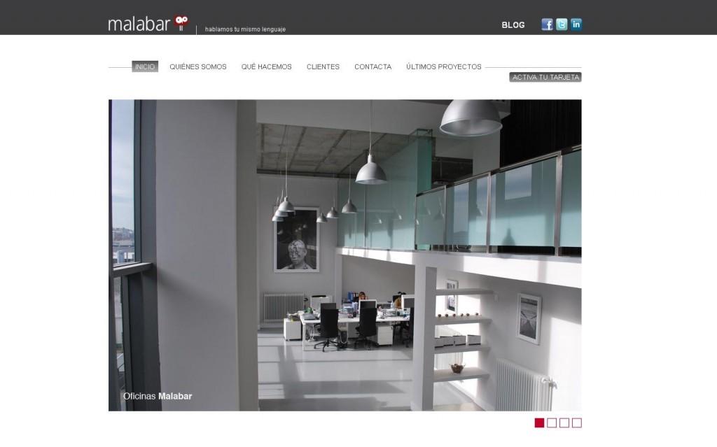 Malabar es una agencia de publicidad de servicios plenos con más de 10 años de experiencia desarrollando estrategias de comunicación solventes e innovadoras. Diseño web por Malabar. (MADRID)