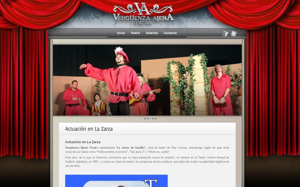Teatro Vergüenza ajena. Asociación cultural para el fomento de las artes escénicas de la comarca de Trujillo. (TRUJILLO)